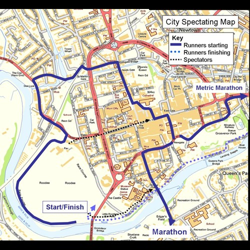 City Spectating Map